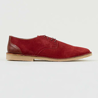 Red Suede Desert Shoes - New In