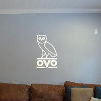 Drake OVO Owl Wall Decal // Car Decal Vinyl