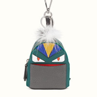 FENDI | BAG BUGS BACKPACK in green nylon with inlay