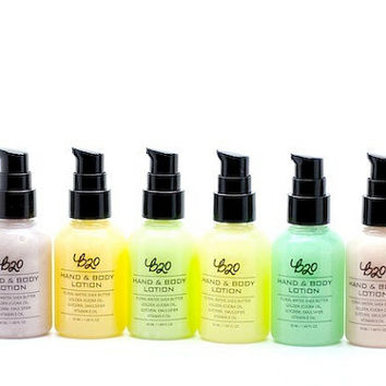 B20 Hand and Body Lotion. Ylang. Shea Butter. Natural Scented. No Fragrance or Essential Oil.