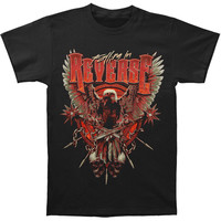 Falling In Reverse Men's  Eagle T-shirt Black Rockabilia