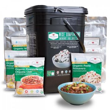 Organic Emergency Freeze Dried Food - 90 Servings