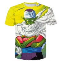$15.99 3D Piccolo Shirt FREE SHIPPING!!!