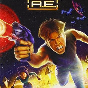 Matt Damon & Drew Barrymore & Art Vitello & Don Bluth -Titan A.e.
