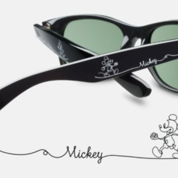 NEW Ray Ban Disney Mickey Mouse Wayfarer Sunglasses Black Limited Edition 2018