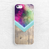 Abstract colorful wood print Phone Case for iPhone 6, Sony z3 z2 z1 compact, LG g2 g3 nexus 5, Moto x Moto g, HTC one m7 m8, mint case -G22