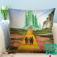 Wizard of Oz Zippered Pillow Case, Cushion Case, Pillow case