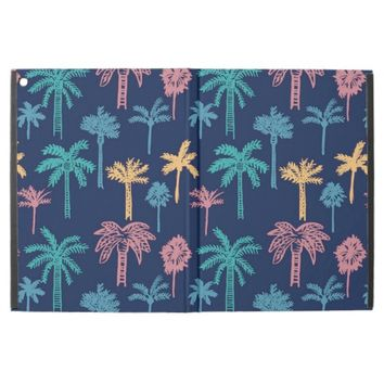 Tropical Palm Tree Leaf Pattern iPad Pro Case