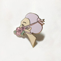 All Tied Up at the Moment Hard Enamel Pin