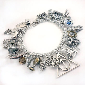 Ultimate Harry Potter Charm Bracelet - Simply Charming