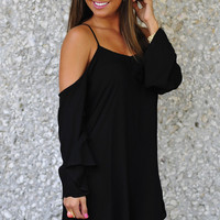 Simply Irresistable Dress: Black | Hope's