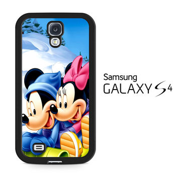Mickey Mouse and Minnie Mouse Samsung Galaxy S4 Case