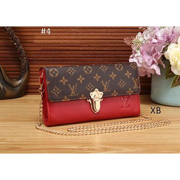 LV Louis Vuitton 2018 new wild portable chain bag shoulder diagonal package #4