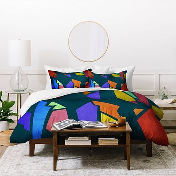 Viviana Gonzalez Textures Abstract 26 Duvet Cover