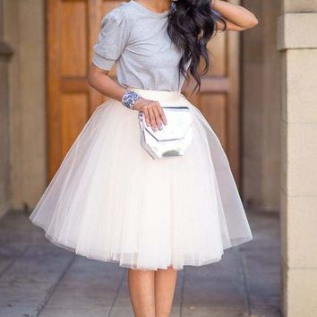 Sirocco 7 Layer Tulle Skirt