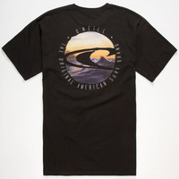 O'neill Standout Mens T-Shirt Black  In Sizes
