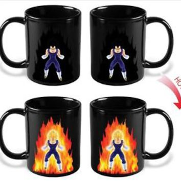 DRAGON BALL Z mug  vegeta Coffee Cup Anime  ceramic  one cup