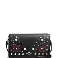 COACHWestern Rivets Foldover Crossbody Clutch