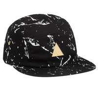 HUF - SPLATTER METAL TRIANGLE VOLLEY // BLACK