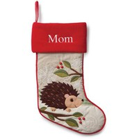 Personalized Forest Friend Stocking, Hedgehog - Walmart.com