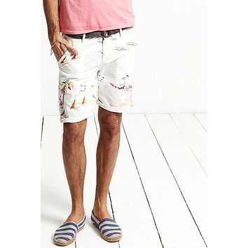 Clothing Plus Size Men Beach Shorts Casual Slim Fit Print Men Summer Shorts