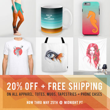 20% OFF + FREE Shipping! by eDrawings38 | Society6