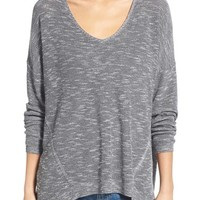 Dreamers by Debut Marled V-Neck Sweater | Nordstrom