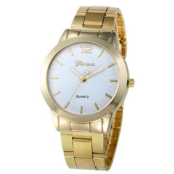 Xiniu Watch Women Business Stainless Steel Gold Quartz Hour Analog WristWatch Female Clock Relogio Feminino Montre Femme #EL