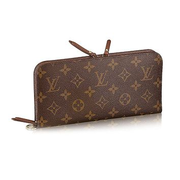 Louis Vuitton Monogram Canvas Insolite Wallet M60042 Made in France
