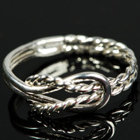ON SALE Infinity Knot Ring  Thumb Ring  by TheJewelryGirlsPlace
