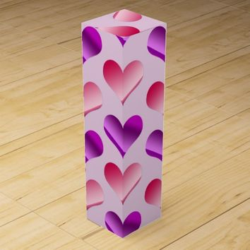 Bunches of Hearts Wine Gift Box
