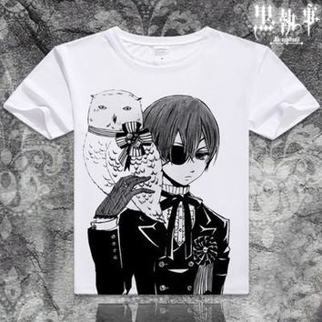 Black Butler Short Sleeve Anime T-Shirt V3