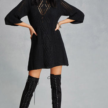 Selfie Leslie Sweater Dress