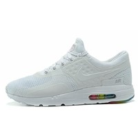 Best Deal Online Nike Air Max 87 Zero QS ESSENTIAL White Multi Men Sport Running Shoes