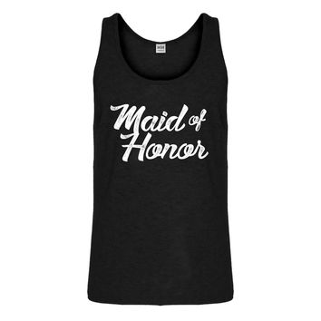 Tank Maid of Honor Mens Jersey Tank Top