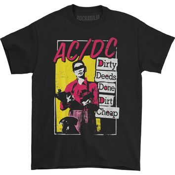 AC/DC Men's  In Line T-shirt Black