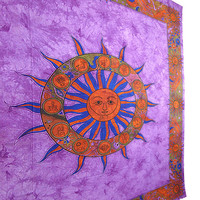 LARGE Sun Tapestry, Sun Tapestries ,Sun Tapestry Wall Hanging, Hippie Tapestry,Cotton Bed cover,Bed Sheet,Throw,Wall Hanging,Decorative Art
