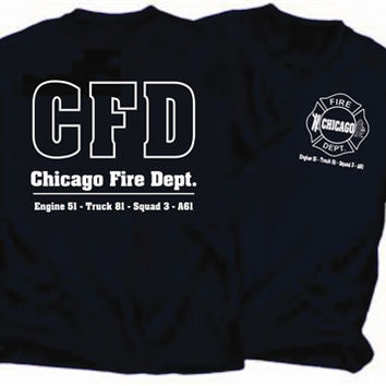 Chicago Fire TV Show Duty T-Shirt