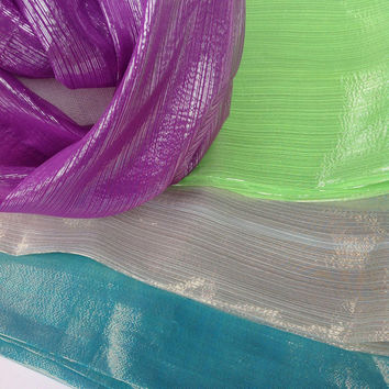 Silk Circle Assorted scarf collection, Office gift idea, Holiday gift, Ready to Ship,
