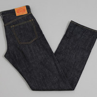 burgus plus - lot700 basic non selvedge jeans 15 oz denim