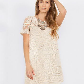 Texas Treasure Embroidered Shift Dress
