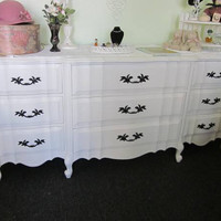Vintage French Provincial Dresser by Kent Coffey