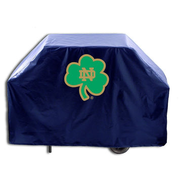 NCAA Notre Dame  (Shamrock) 60-inch Grill Cover