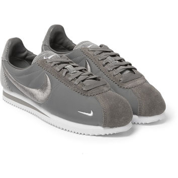 Nike - Classic Cortez Suede, Corduroy and Mesh Sneakers | MR PORTER
