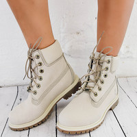 Women's 6-Inch Premium Waterproof Boots - Winter White