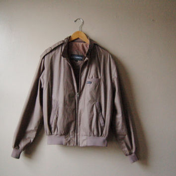 Slate grey Members Only jacket/ Men's/ Size M