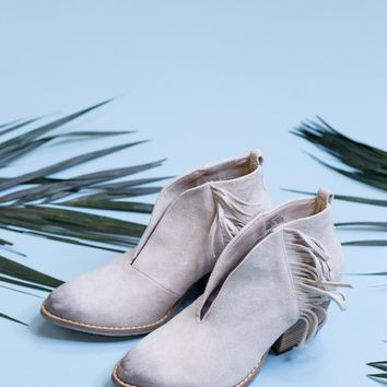 Miranda Ivory Fringe Boot | Coconuts by Matisse