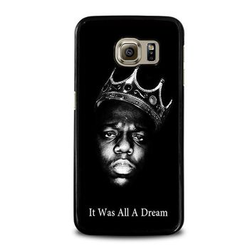 notorious big samsung galaxy s6 case cover  number 1