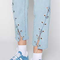 Kendall and Kylie Ringmaster Denim Mom Jeans at PacSun.com