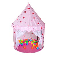 Playhouse Tent Children Princess Castle Tent Baby Kids Child Portable Indoor Outdoor Play Tents without Ball
